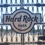 Gates used to enter Hard Rock Park