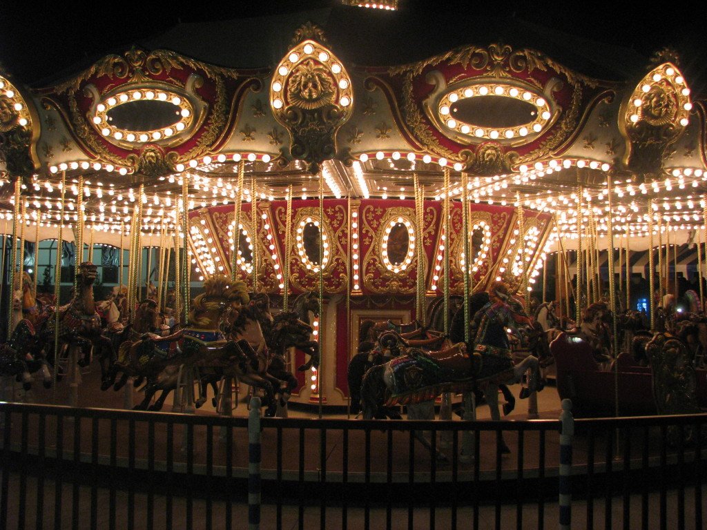 Hard Rock Park Carousel