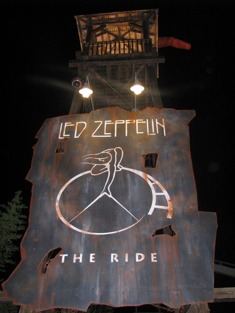 Hard Rock Park Led Zeppelin Marquee