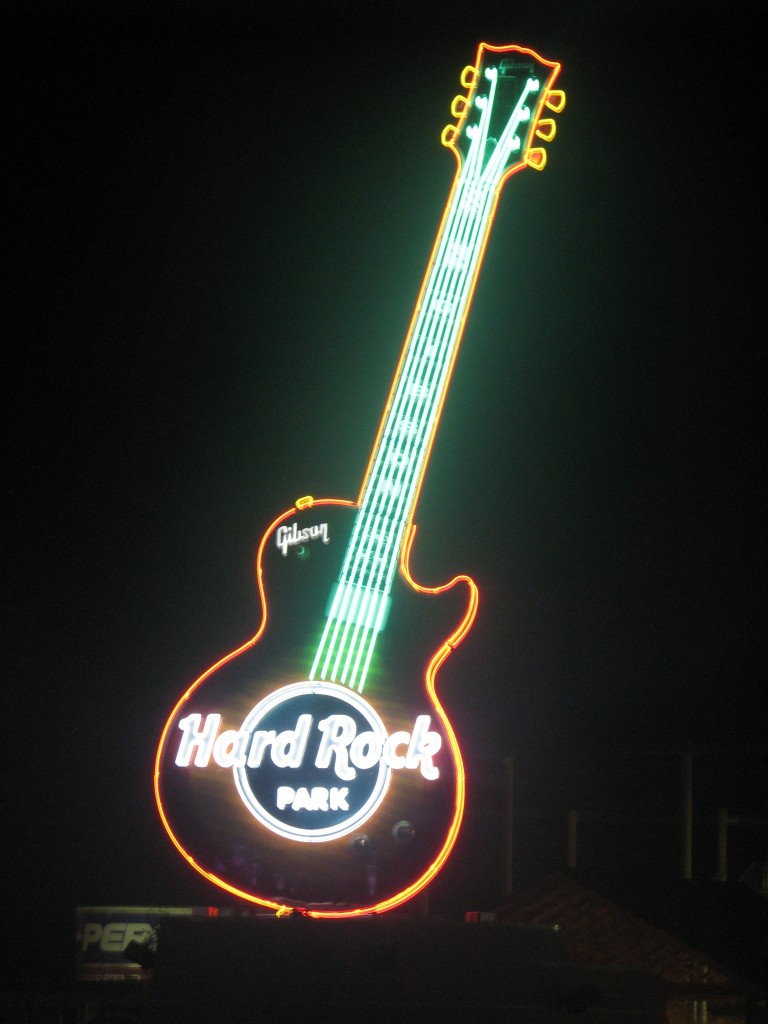 Hard Rock Park Gibson Guitar