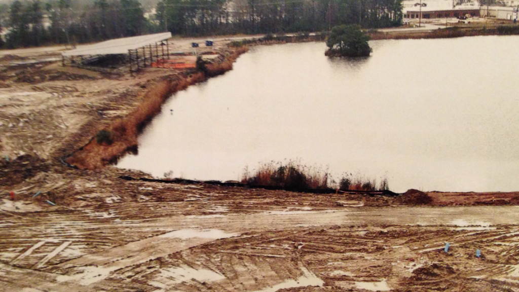 Lagoon Construction