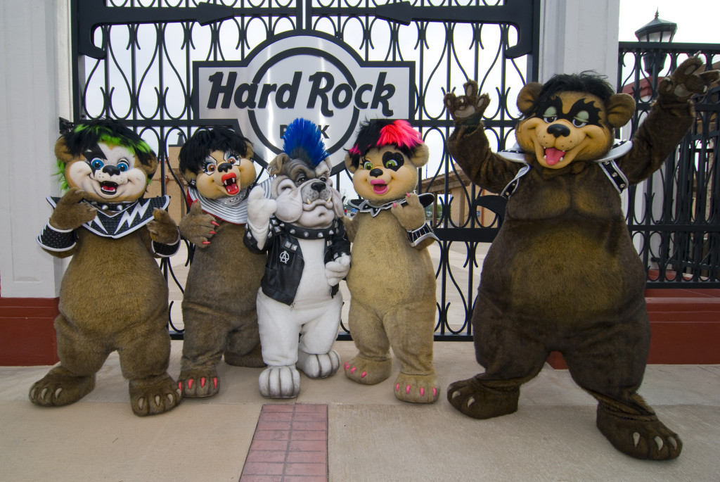 Bear Metal Family - Hard Rock Park