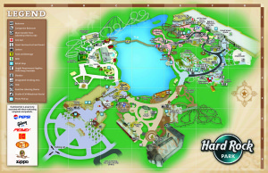 Hard Rock Park Map Opening Day