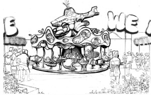 Yellow Submarine Carousel Concept