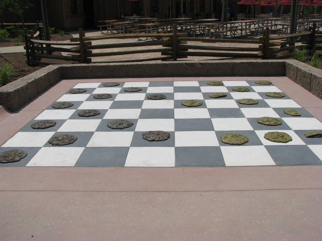 Cow Pie Checkers -  Cool Country