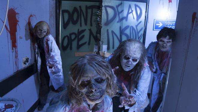 Walking Dead Haunted House