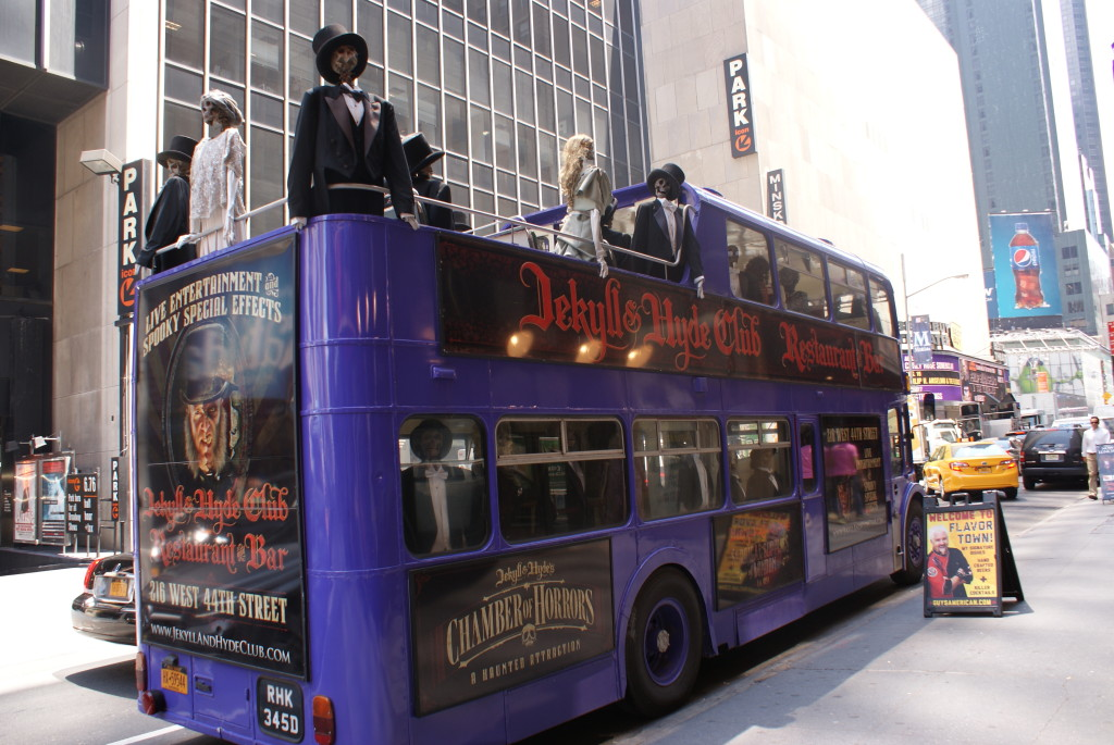 Jekyll and Hyde Bus