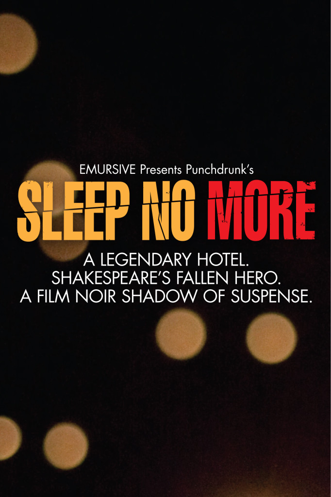 Sleep No More Poster