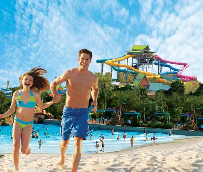 Copyright Aquatica Water Park