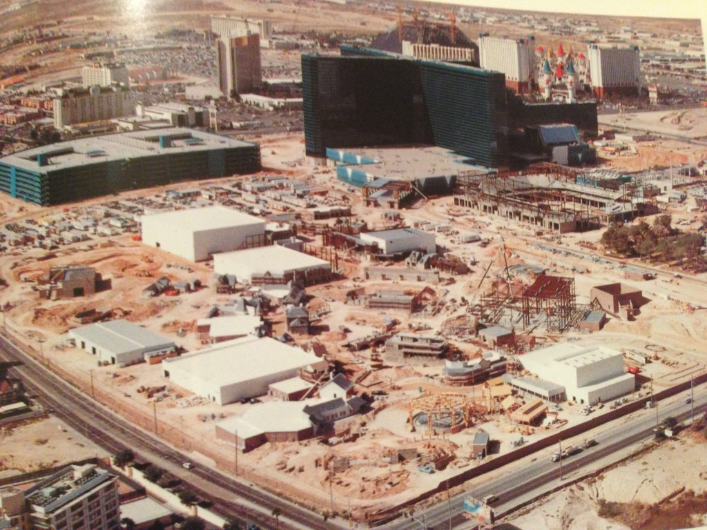 MGM Las Vegas Construction