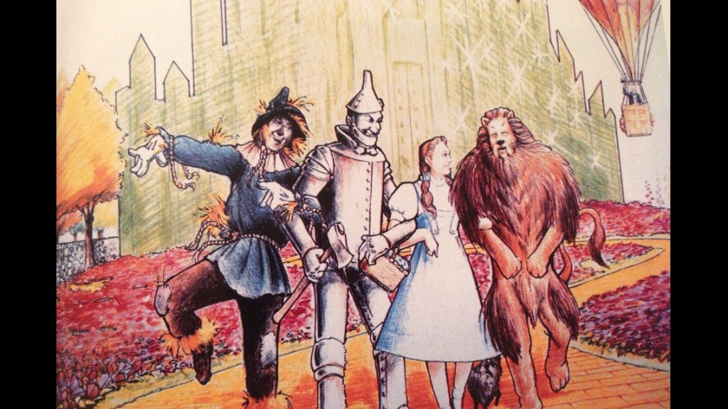 Wizard of Oz Concept Art - MGM Grand Hotel and Casino