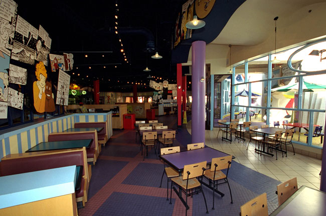 Islands of Adventure's Comic Strip Cafe
