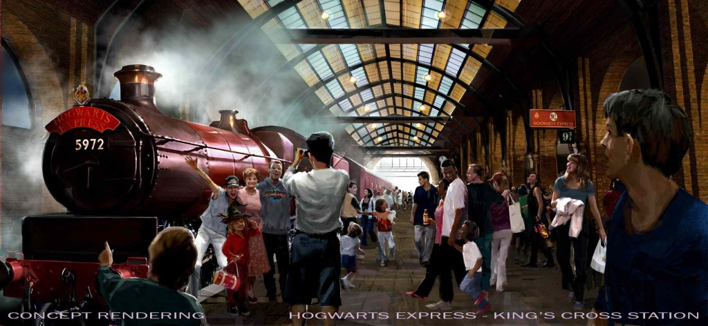 Universal Orlando King's Cross Station