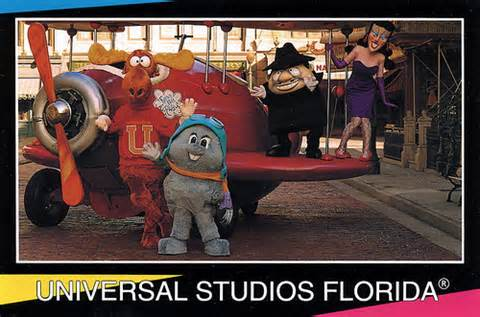 Rocky and Bullwinkle at Universal Studios Florida
