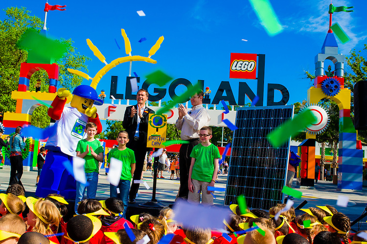 Legoland Florida Goes Green For Earth Day Theme Park