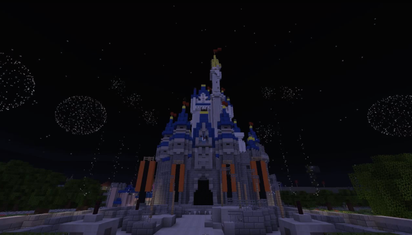 Virtual magic kingdom unofficially reborn on minecraft theme park wishes complete with the soundtrack gumiabroncs Choice Image