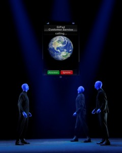 Copyright Blue Man Group