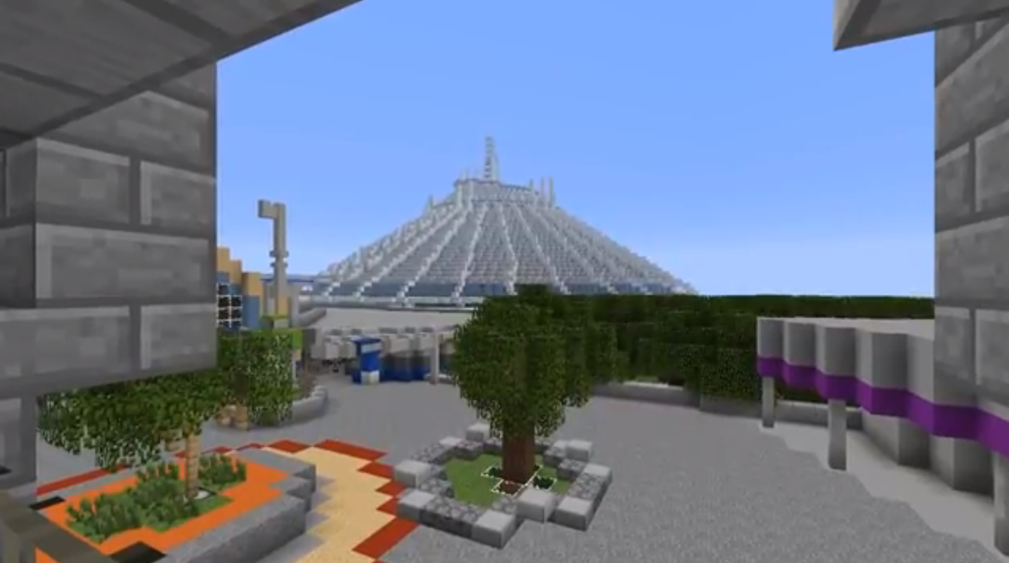 Virtual Magic Kingdom Unofficially Reborn On Minecraft Theme - Mcmagic us map download