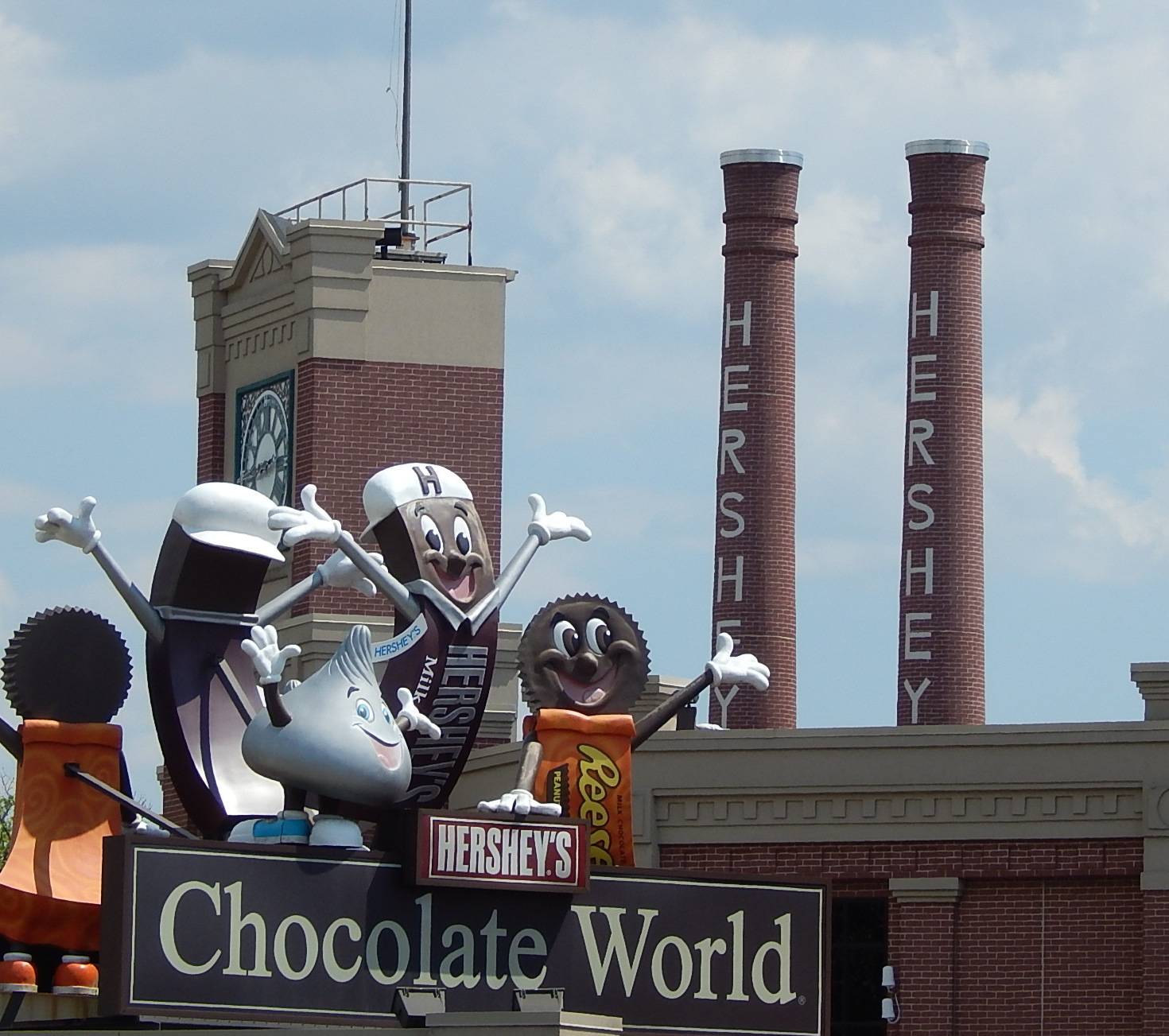 Behind The Scenes At Hershey's Chocolate World - Theme Park University