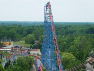 Man of Steel Coaster - Darien Lake
