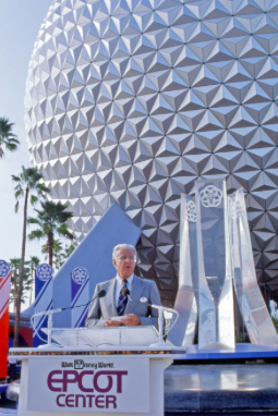 Epcot Grand Opening