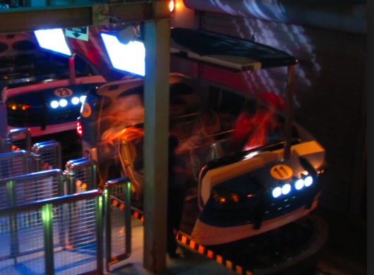 The Amazing Adventures of Spider-Man Ride Vehicle