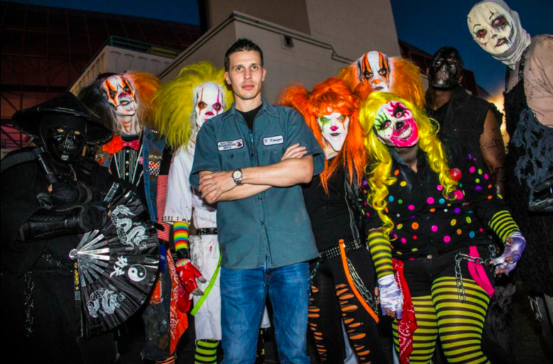 Fright Dome Creator Jason Egan Photo by Warren Ross