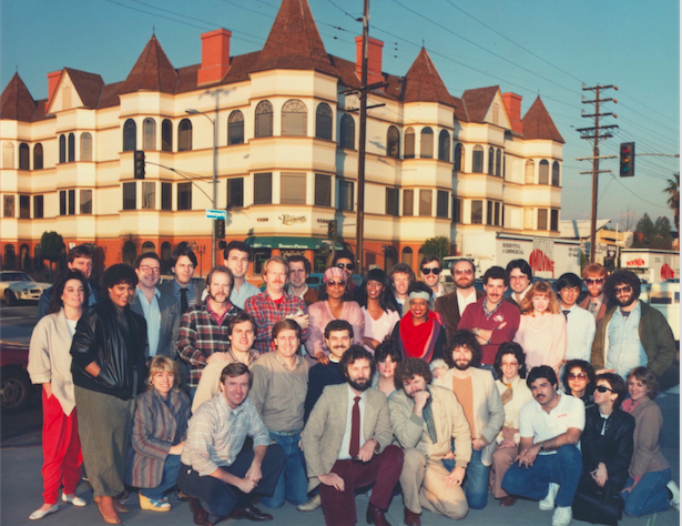 The entire Landmark Team after moving into the new offices in Sherman Oaks just as The Power Plant launched into full design and production. Copyright The Goddard Group  All Rights Reserved