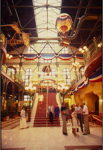 Interior of the Grand Entry Hall on Friends and Family preview day. Copyright The Goddard Group All Rights Reserved