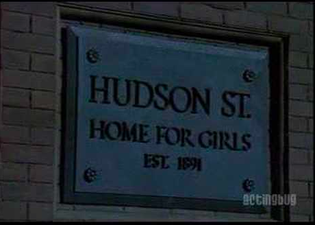 Orphanage Sign In Annie 1982