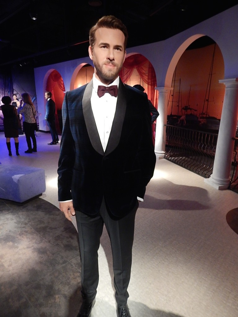 Madame Tussauds Ryan Renolds
