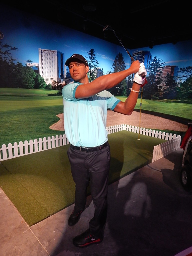 Tiger Woods Madame Tussauds Orlando