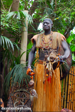 Trader Sam in Disneyland Jungle Cruise Photo From Davelandblog