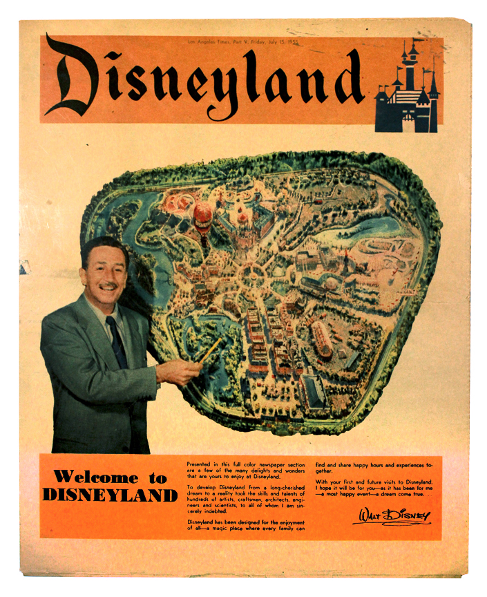 Walt Disney Map