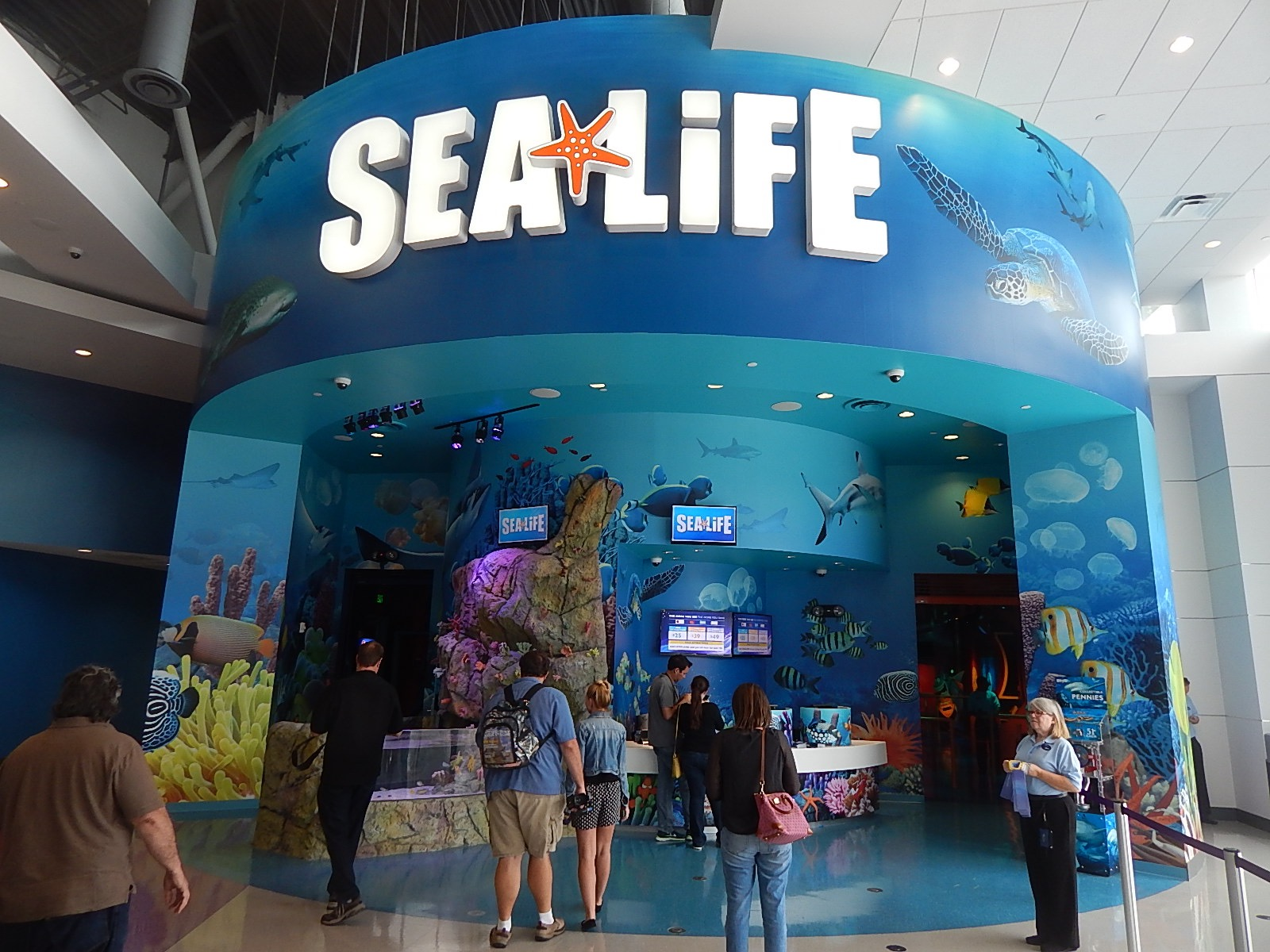 Sea Life Aquarium Orlando Opens May 4 2015 Theme Park University
