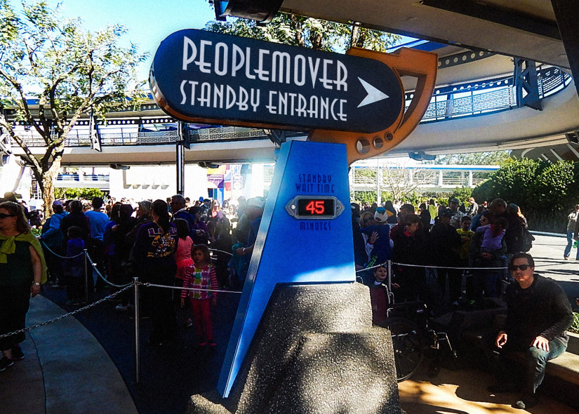 People Mover Standby Entrance