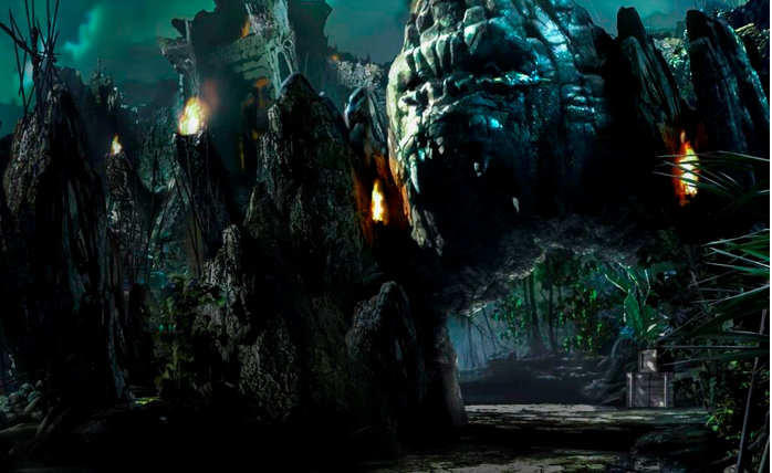 Skull Island Reign of King Kong