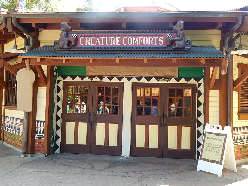 Creature Comforts Animal Kingdom