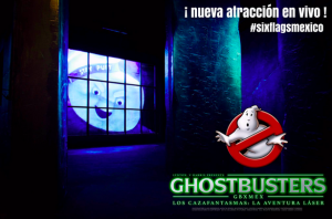 Ghostbusters Six Flags Mexico