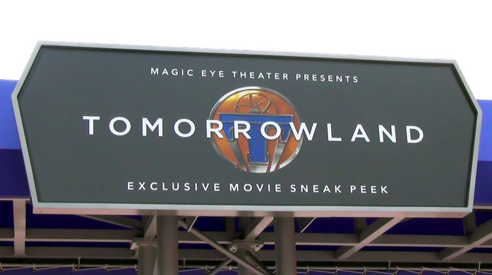Tomorrowland Movie Preview Epcot