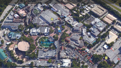 Disney's Hollywood Studios Google Earth