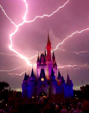 Magic Kingdom Lightning