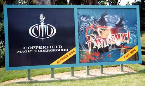 Copperfield Magic Underground