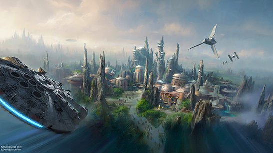 Disney Reveals Names of Star Wars: Galaxy's Edge Attractions