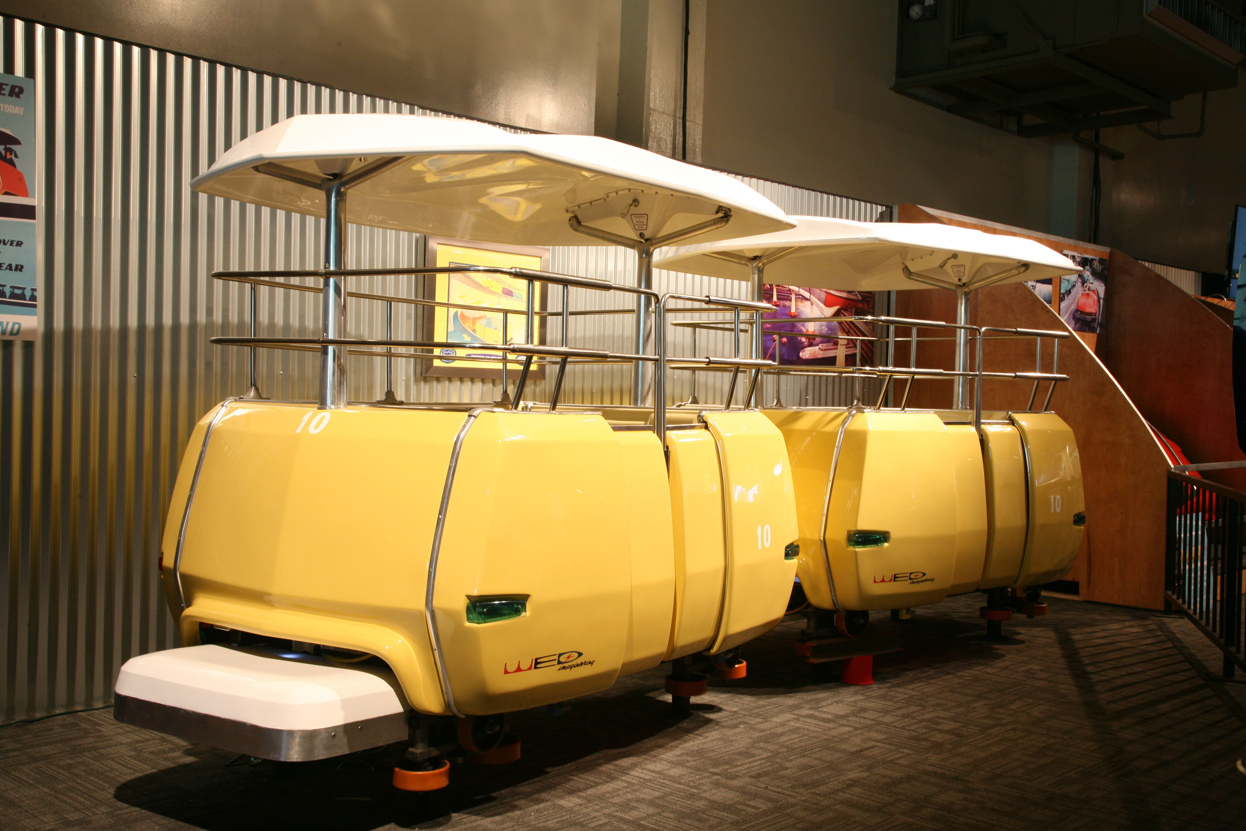 Want to buy a Space Mountain Ride Vehicle? - Theme Park University