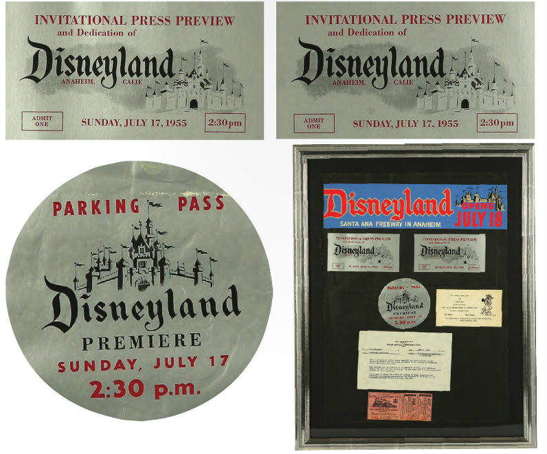 Disneyland Auction