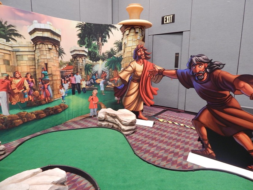 Holy Land Experience mini golf