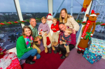 Take a Ferris Wheel Ride with Santa at the Orlando Eye