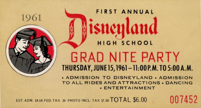Disney Grad Nights