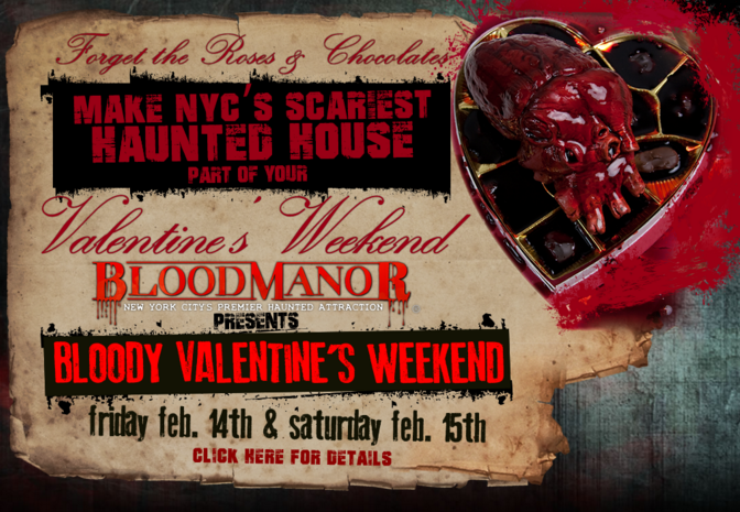 Blood Manor Valentine's Day